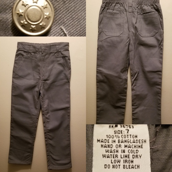 no label Other - No brand - Dark Gray Jeans Boy size 7